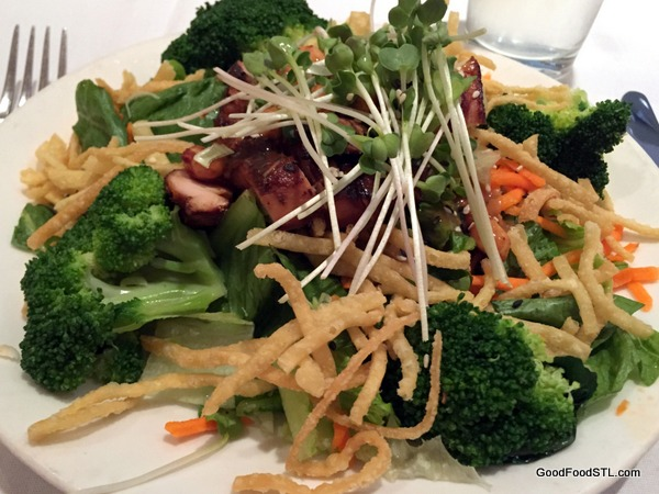 Chinese Barbecued Chicken Salad