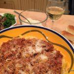 Bolognese Sauce with Parpadelle Noodles
