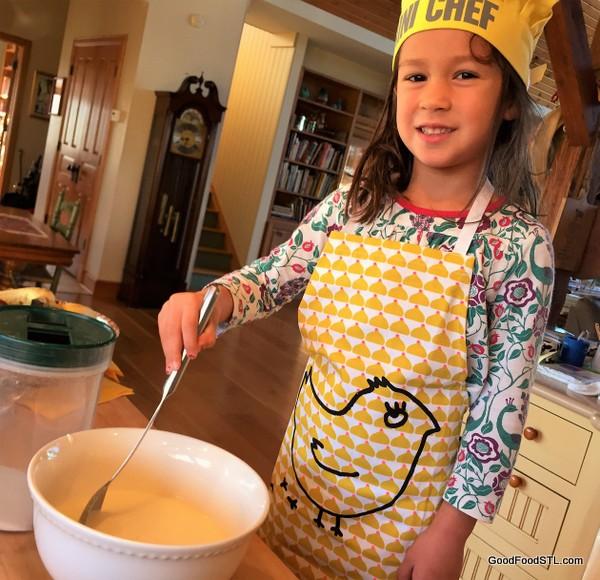 Pancake mixing