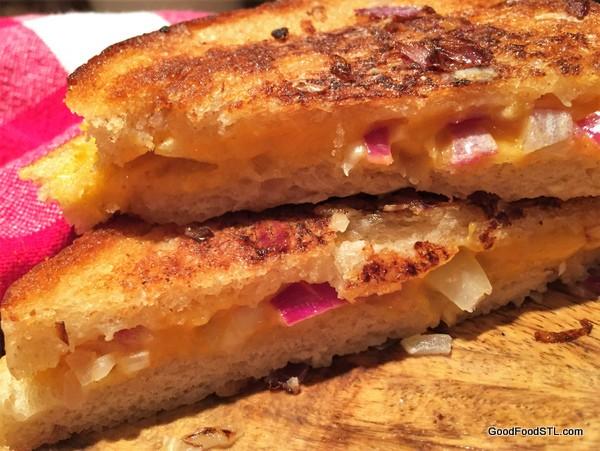Grilled Cheese a là Ruth Reichle