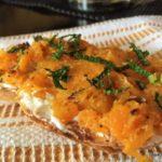 Butternut Squash Toast: A Colorful Open Sandwich