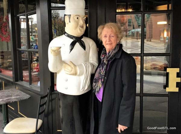 Bonzo, the server, at Herbie's
