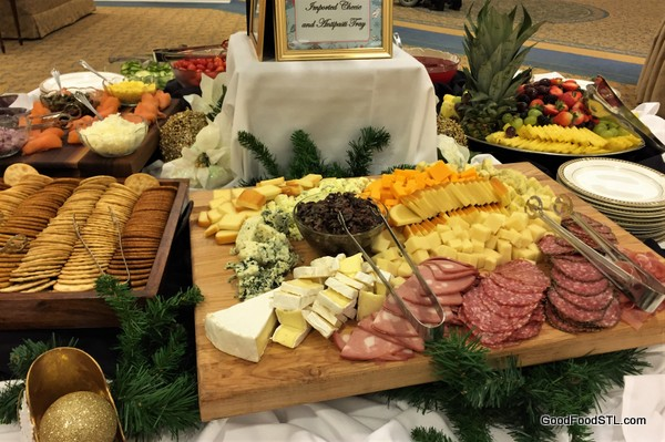 Cheese board at McKnight Place