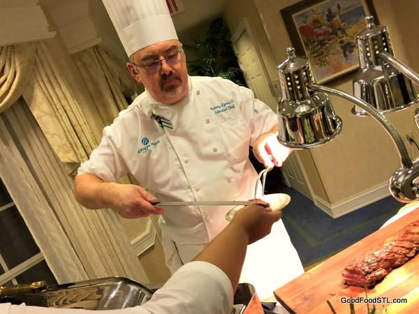 Executive Chef Anthony Lyons of McKnight Place