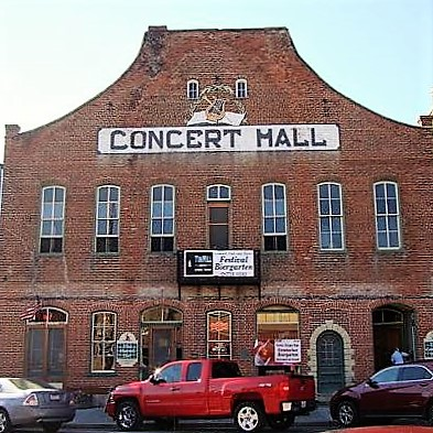Concert Hall and Barrel in Hermann