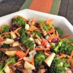 Broccoli Apple Salad: Crunchy & Delish