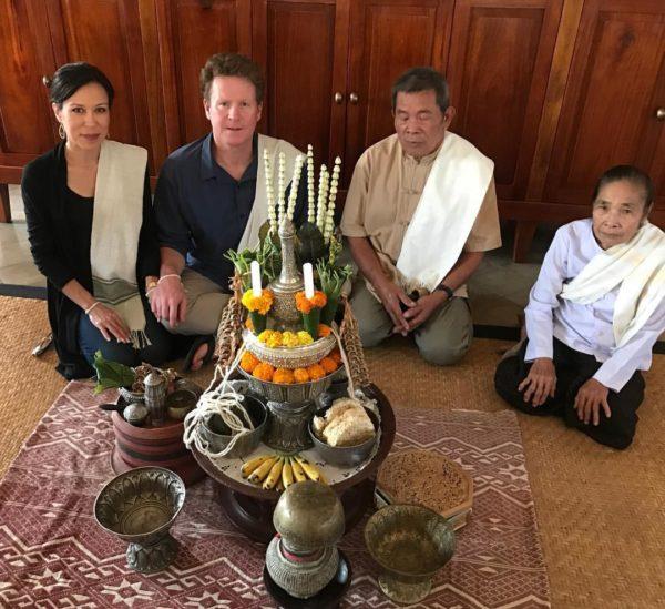 Laos birthday celebration