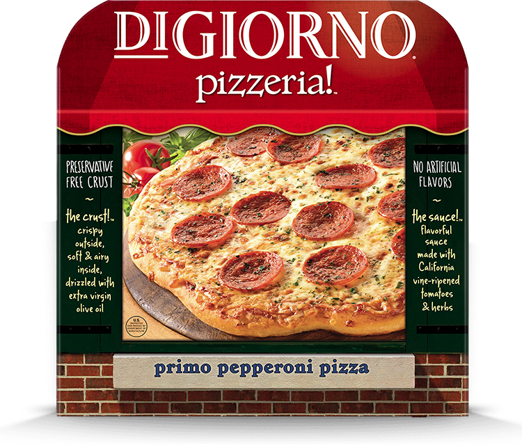 DiGiorno Pizzeria Primo Pepperoni Pizza
