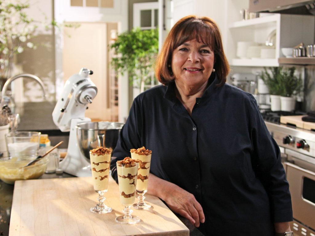 Ina Garten in the kitchen