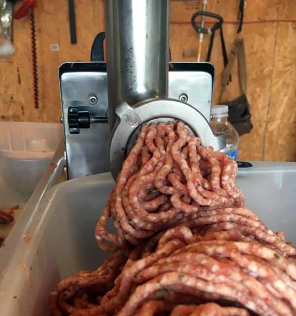 sausage making2