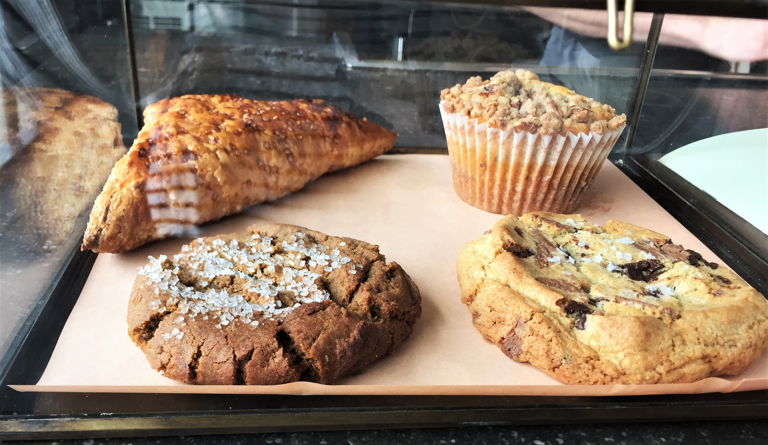 Vicia restaurant cookies and desserts