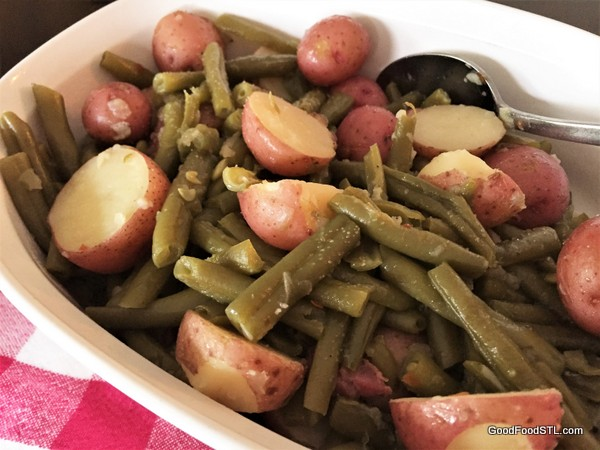 Southern-Style Green Beans and New Potatoes