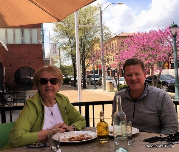 Jean and Tom at Tavola V Restaurant