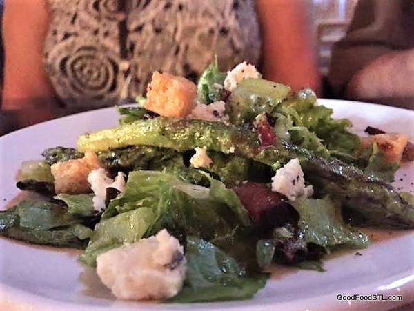 Claverach Farm salad