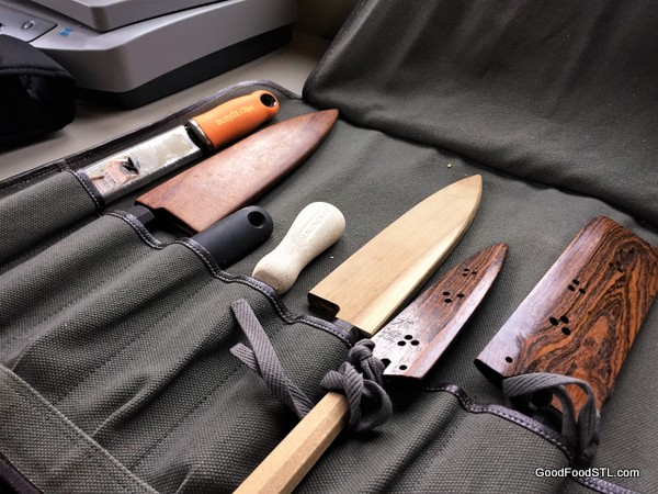 chef's cooking knives