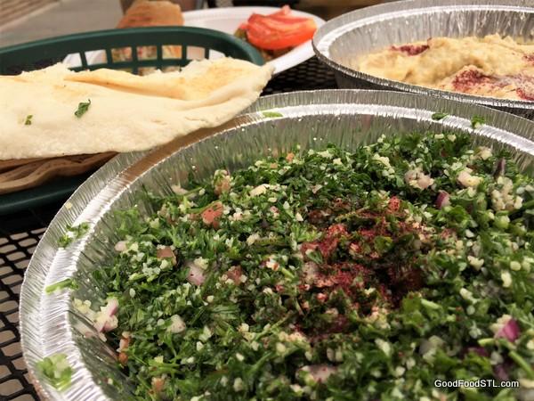 Shawarma King tabbouleh