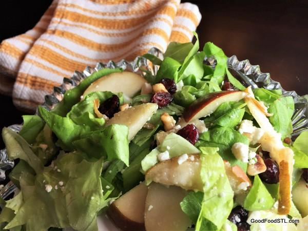 triple walnut salad