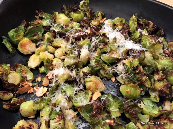 Brussels Sprouts Chips n' Chunks
