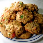 Bourbon Fruitcake Cookies