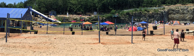 Fugitive Beach volleyball courts
