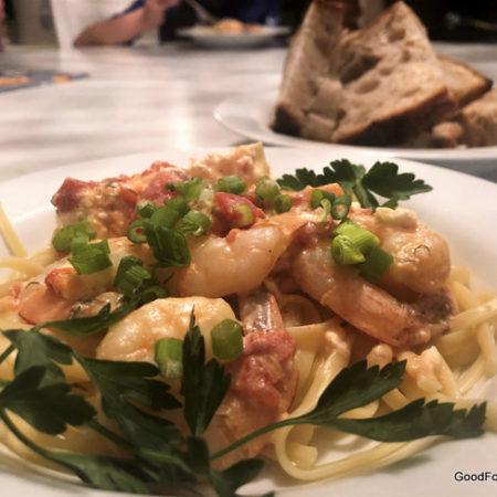 Greek Shrimp Sanganaki