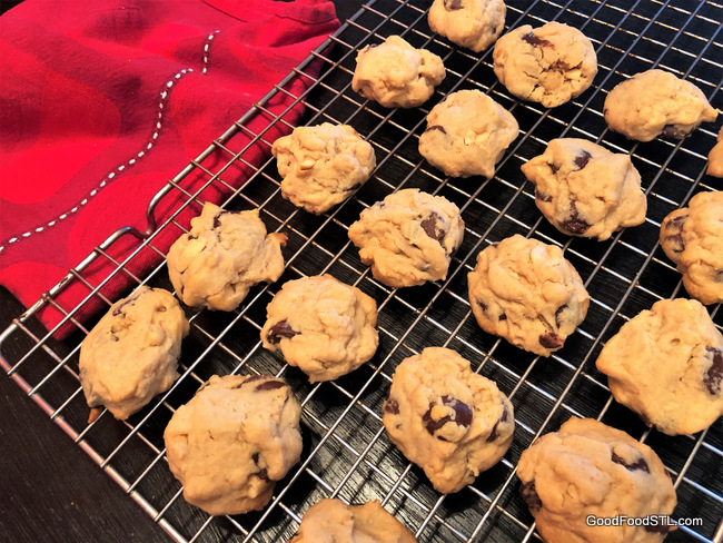 Ghirardelli Peanut Butter Chocolate Chip Cookies
