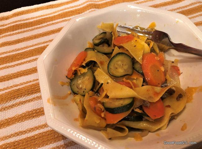 carrot zucchini pasta