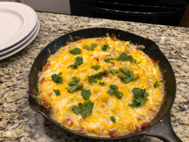 Quick King Ranch Chicken Casserole