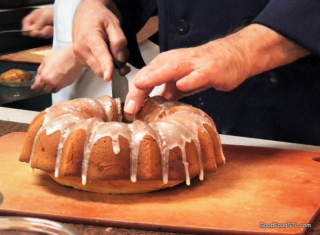 Apricot Brandy Pound Cake
