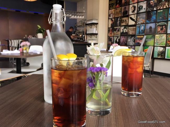 iced tea at Turn Restaurant
