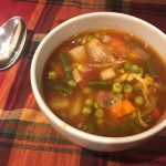 Vegetable Soup, a Meal in a Bowl