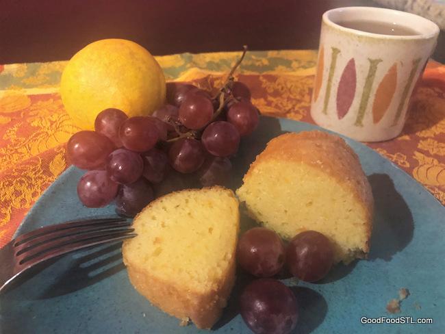 Sicilian Orange Bundt Cake