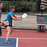 Pickle Ball in the Park