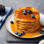 Fluffy Pumpkin Pancakes for a Fall Breakfast